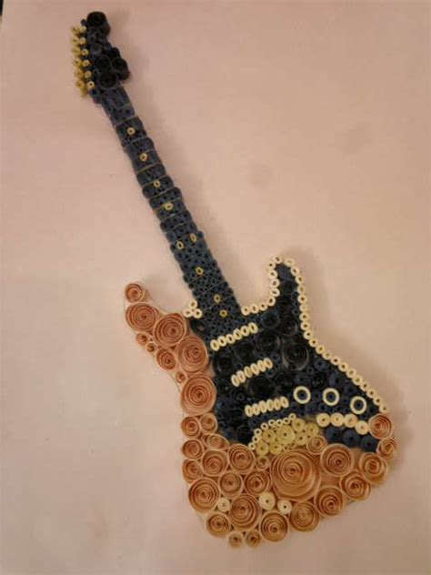 attempt  quilling guitar quilling