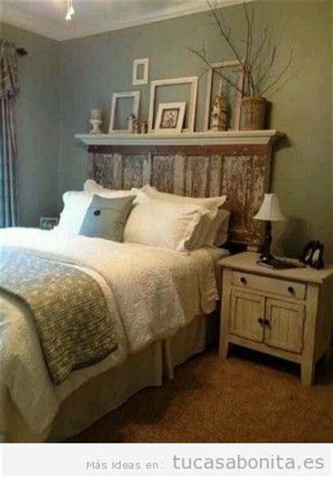 cabeceros de cama decorados tableros puertas  ventanas