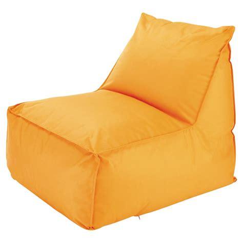 Chauffeuse D'extérieur  Pouf Billes Orange Papagayo