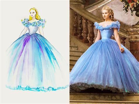 what color is cinderella s dress cinderella gown costume designer powell