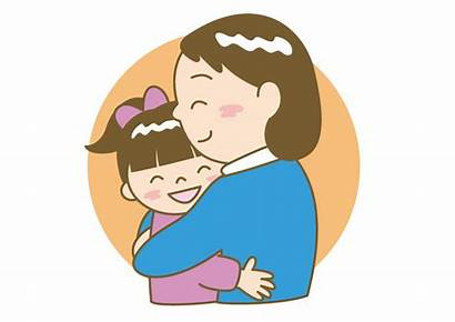 Clipart Mother Child Parent Showing Daughter Clip