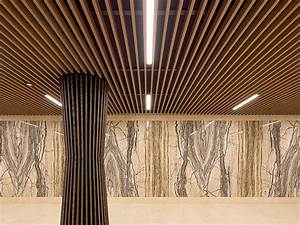 Waste Manager Floating Batten Ceiling Injects Warmth Into Luxe