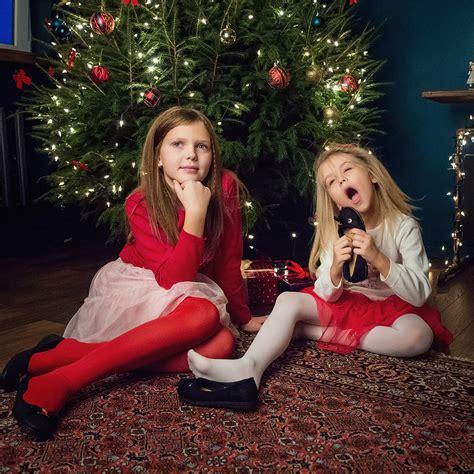 Ziemassvētku fotosesija vienā no skaistākajām fotostudijām Rīgā.