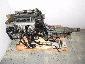 Jdm 1jz 1jzgtte Motor Twin Turbo 2 5l Rear Sump Engine At