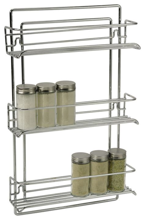 Wall Mount Spice Rack With Jars by Wall Mounted Spice Rack Contemporary Spice Jars And