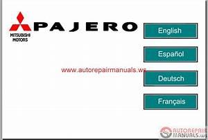 Mitsubishi Pajero Eur 2008 Service Manual