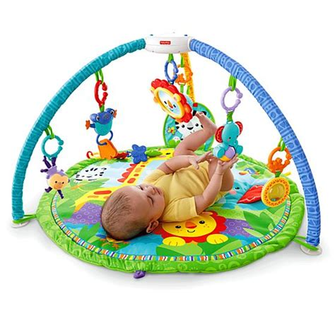 fisher price activity mat rainforest friends musical