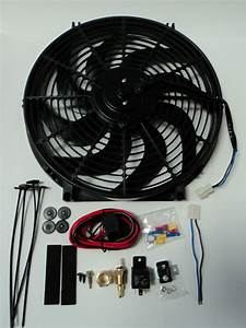 14 U0026quot  Electric Fan 2200 Cfm   Wiring Install Kit Complete