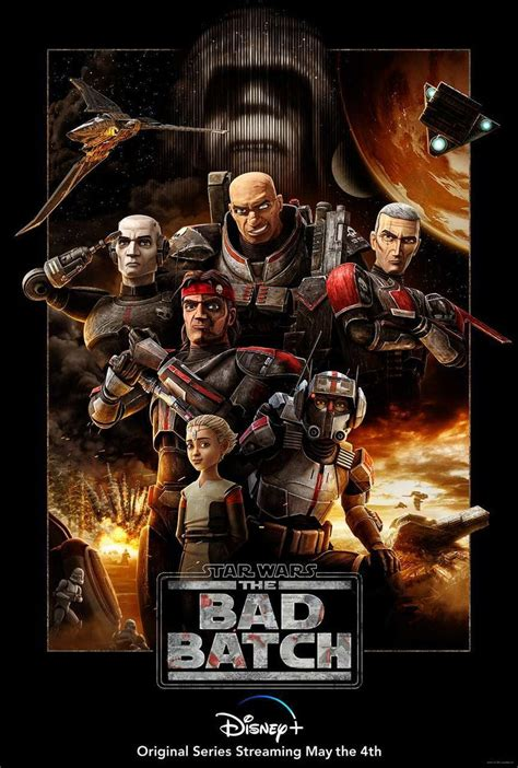 Disney+ Releases New Star Wars: The Bad Batch Poster