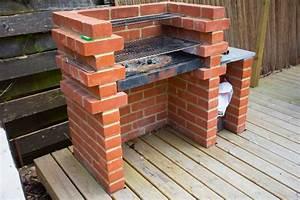 Fabriquer Son Canapé Soi Meme : fabriquer soi m me son barbecue en brique ~ Melissatoandfro.com Idées de Décoration