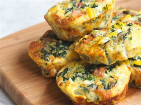 cottage cheese frittata mini ham and spinach cottage cheese frittatas the