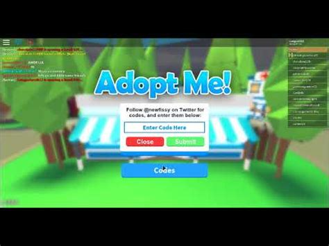 How to redeem the working twitter codes in the game! Roblox Wiki Adopt Me - Robux Codes Easy