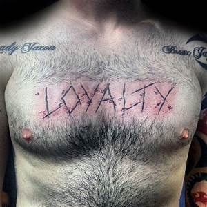 50 Loyalty Tattoos For Men - Faithful Ink Design Ideas