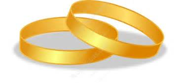wide band engagement rings gold wedding rings clipart vector