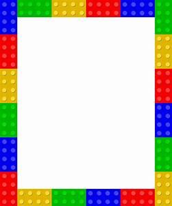 Clipart - Lego frame 1