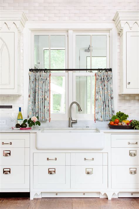 10 best patterns for kitchen curtains - Drapes In Kitchen