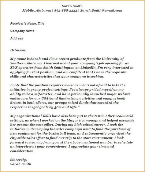 create  cover letter   experience resume