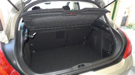 peugeot 308 trunk one d rive peugeot 308 is not a small car