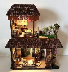 Artista Crea Miniature Di Case Giapponesi Arredate Con Dettagli Tradizionali