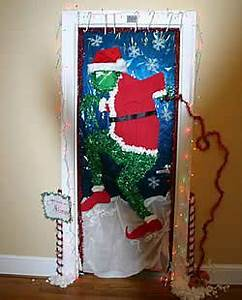 Grinch Door Decorating Contest Ideas