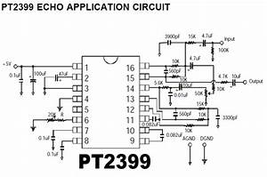 pt2399 echo application circuit repository nextgr With these circuits will delay the application of power to a second circuit