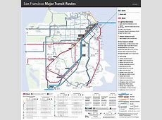 Bay Area Transportation Maps BART, MUNI, Caltrain & more