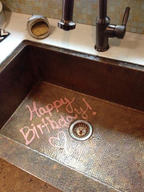 The self healing magic of a copper sink   Patina Copper