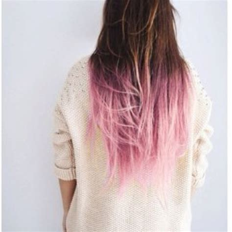 Brown Blond Pink Dip Dyed Hair Hair And Beauty