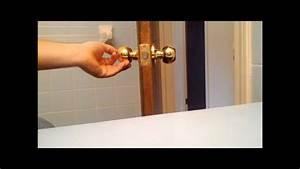 How To Install A Door Knob Or Replace An Interior Door