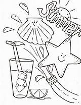 Coloring Summertime Drink Fresh Camp Adult Clothes Drinks Sheets Printable Colouring Drawing Reading Crayola Kindergarten Getcolorings Getdrawings Colornimbus Worksheet Sun sketch template