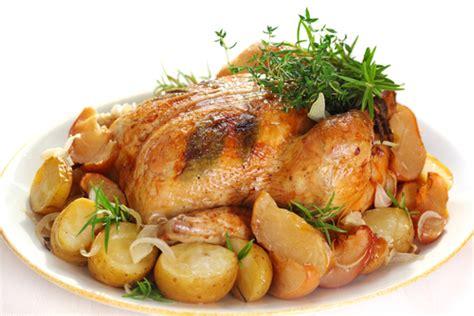 laurier de cuisine poulet rôti à l ail et aux pommes de terre gourmand