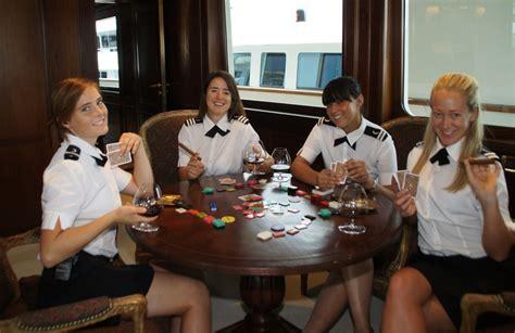 yacht stewardess training  work  interior crew work