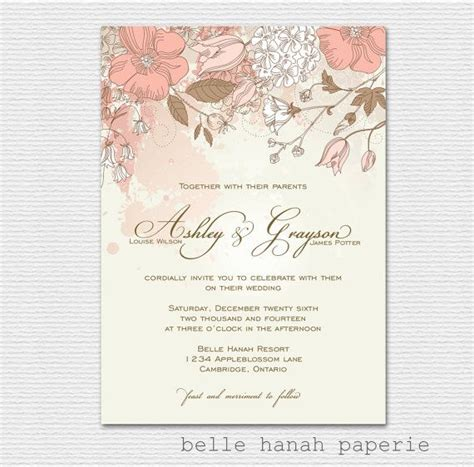 shabby chic wedding invitation templates 60 best images about wedding invites on pinterest vintage shabby chic vintage wedding