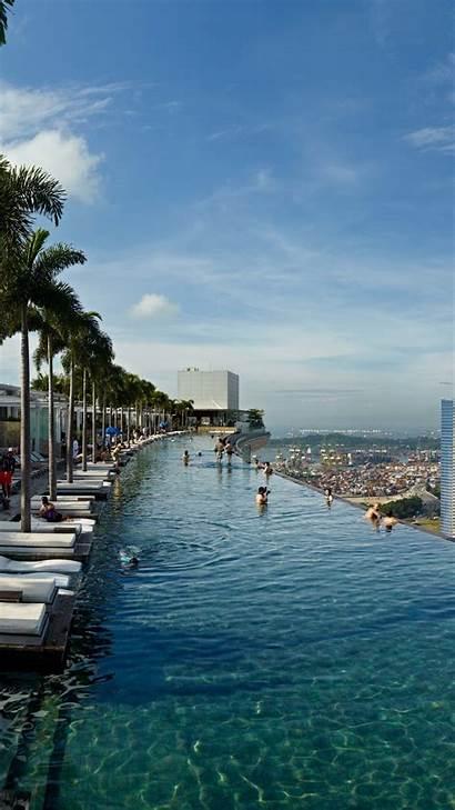 Pool Bay Marina Sands Infinity Hotel Booking
