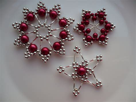 christmas ornaments beaded ornaments pinterest