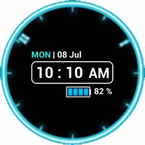 Neon Clock Wid [Free] Android Apps on Google Play