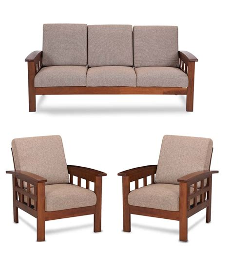 Wooden Sofa by Solid Wood 3 1 1 Sofa Set Interior Design Customized