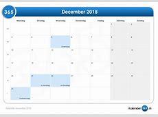 Kalender december 2018