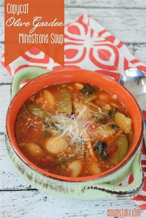 olive garden minestrone soup recipe the best copycat soup recipes u create