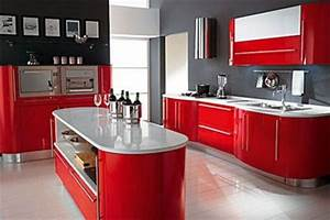 modelos de cocinas sencillas y pequenas With kitchen colors with white cabinets with alabama car sticker