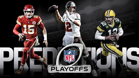 NFL playoff picks, predictions for 2021 AFC, NFC brackets ...