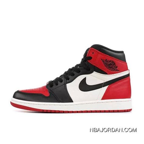 Air Jordan 1 High Black And Red Toes Latest Price 8983