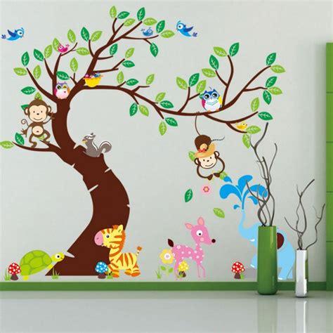 tiere für kinderzimmer wandtattoos kinderzimmer free ausmalbilder