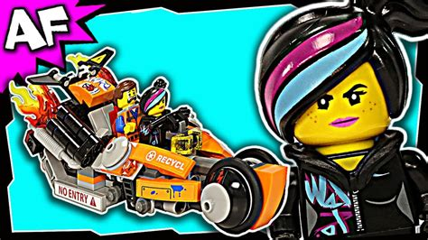 Lego Movie Super Cycle Chase 70808 Stop Motion Set Review