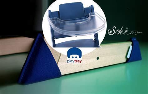 trip trap stoel playtray transparant tafelblad voor stokke tripp trapp