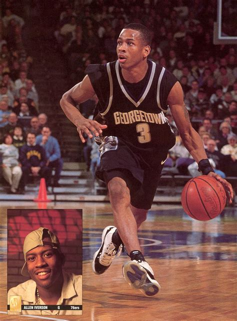 collector allen iverson georgetown face au duo wallace