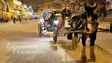 Wagon & Carriage Rides  Leavenworth Washington