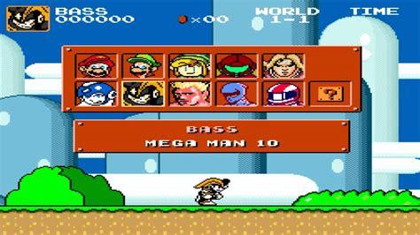 super mario bros crossover version  overview youtube