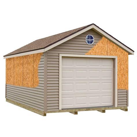 garage kits for best barns greenbriar 12 ft x 24 ft prepped for vinyl