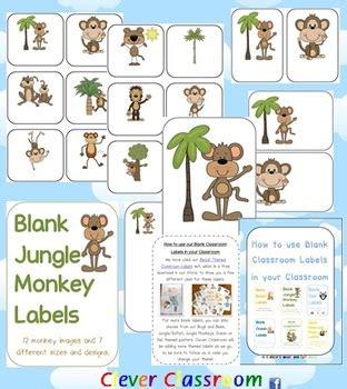 jungle theme  clever classroom teachers pay teachers